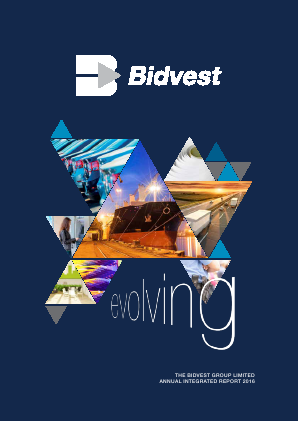 The Bidvest Group annual report 2016
