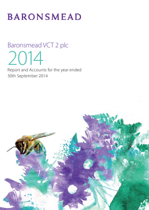 Baronsmead Venture Trust (Previously VCT 2) annual report 2014