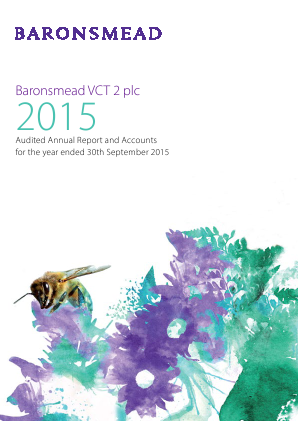 Baronsmead Venture Trust (Previously VCT 2) annual report 2015