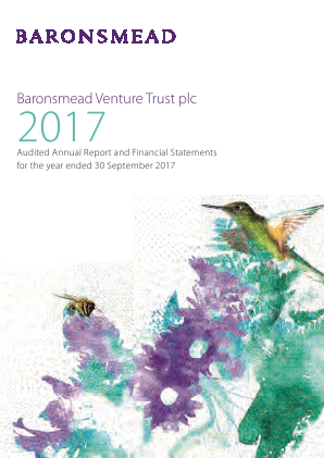 Baronsmead Venture Trust (Previously VCT 2) annual report 2017