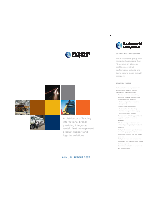 Barloworld annual report 2007