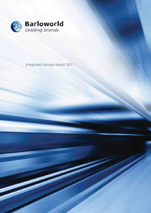 Barloworld annual report 2011