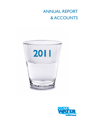 Bristol Water annual report 2011