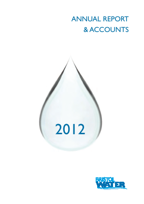 Bristol Water annual report 2012