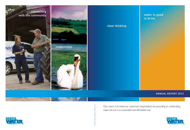 Bristol Water annual report 2013