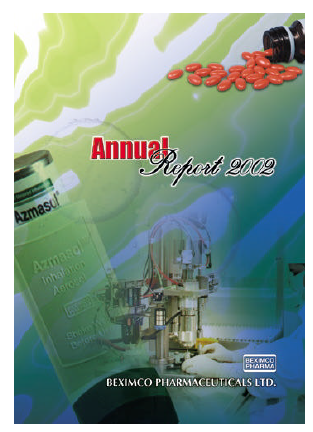 Beximco Pharmaceuticals annual report 2002