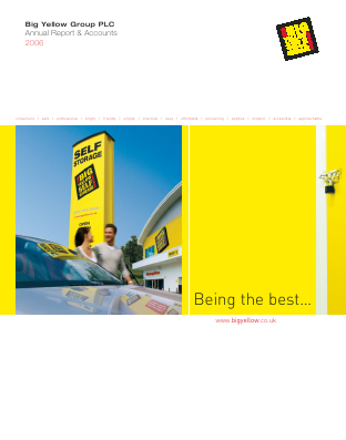 Big Yellow Group annual report 2006