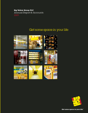 Big Yellow Group annual report 2009