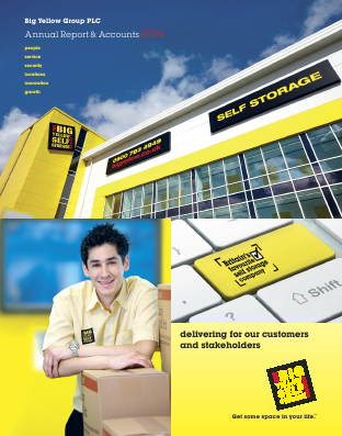 Big Yellow Group annual report 2014