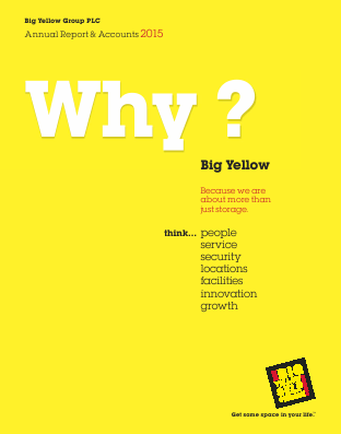 Big Yellow Group annual report 2015
