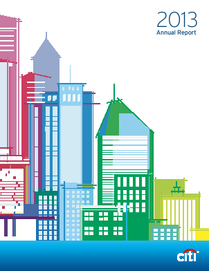 Citigroup annual report 2013