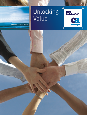 CA, Inc. annual report 2012
