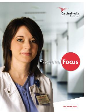Cardinal Health annual report 2009