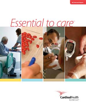 Cardinal Health annual report 2013
