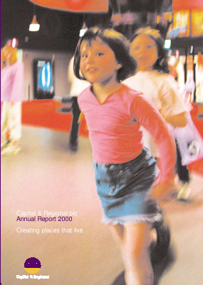 Capital & Regional annual report 2000