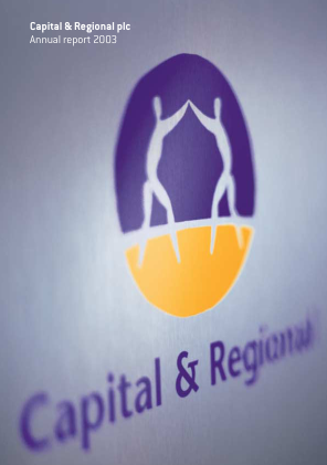 Capital & Regional annual report 2003
