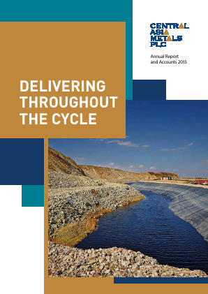 Central Asia Metals Plc annual report 2015