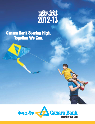 Canara Bank annual report 2013