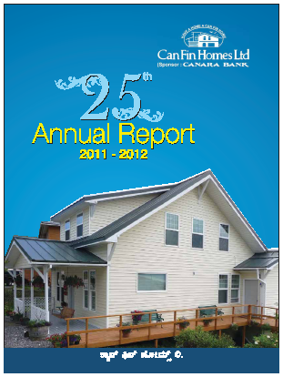 Can Fin Homes annual report 2012