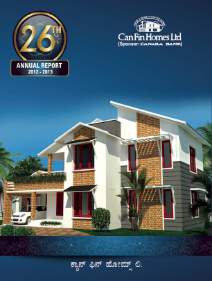 Can Fin Homes annual report 2013