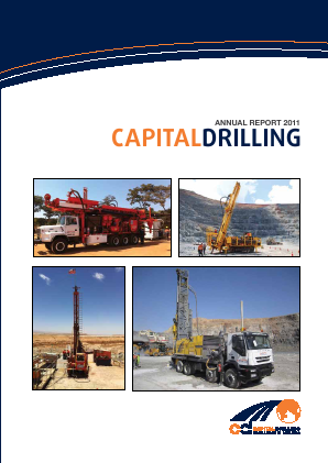 Capital Drilling annual report 2011