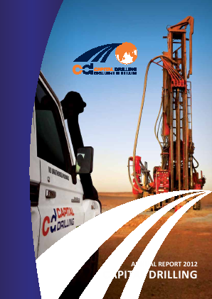 Capital Drilling annual report 2012