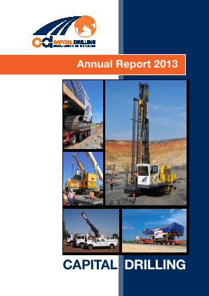 Capital Drilling annual report 2013