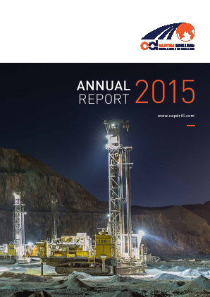 Capital Drilling annual report 2015