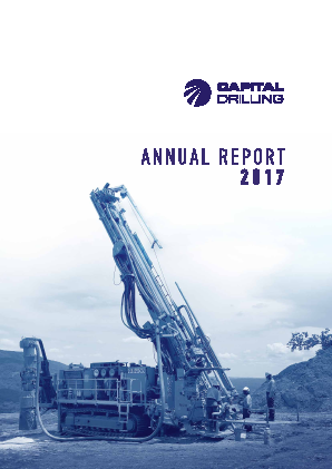 Capital Drilling annual report 2017