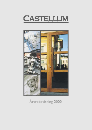 Castellum annual report 2000