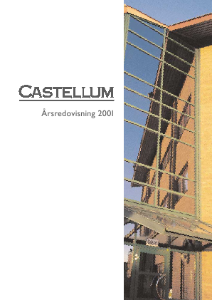 Castellum annual report 2001