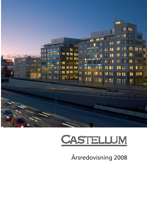 Castellum annual report 2008