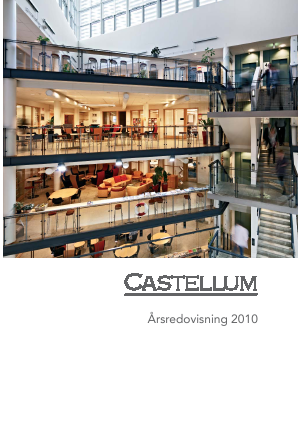 Castellum annual report 2010