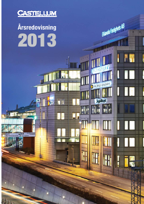 Castellum annual report 2013