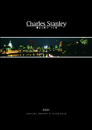 Charles Stanley Group annual report 2001