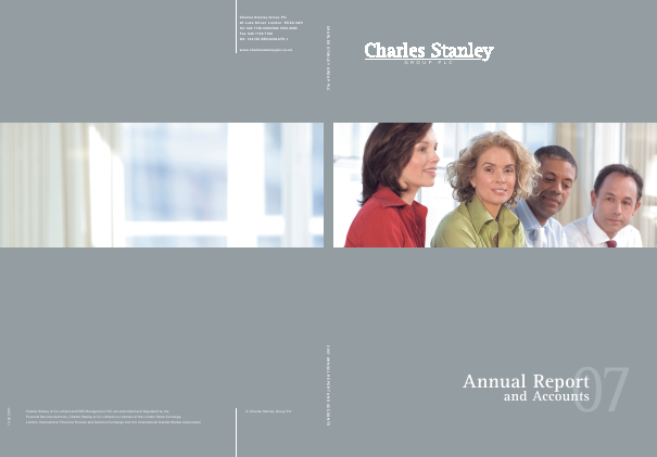 Charles Stanley Group annual report 2007