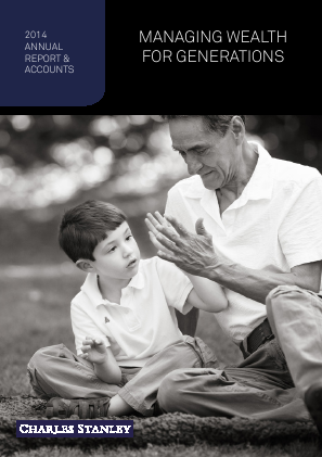 Charles Stanley Group annual report 2014
