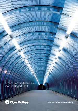 Close Brothers Group annual report 2014