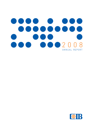 Commercial Intl Bank(Egypt) SAE annual report 2008