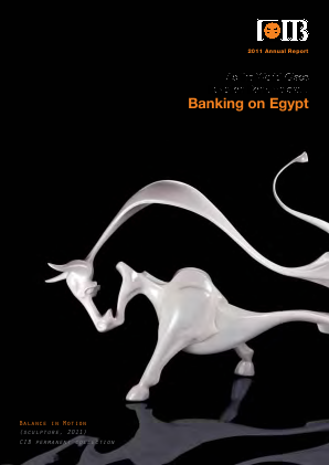 Commercial Intl Bank(Egypt) SAE annual report 2011