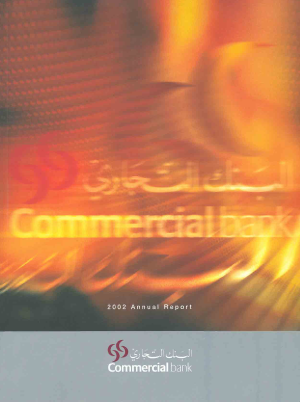 Commercial Bank annual report 2002