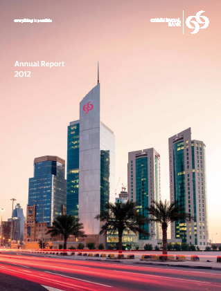 Commercial Bank annual report 2012