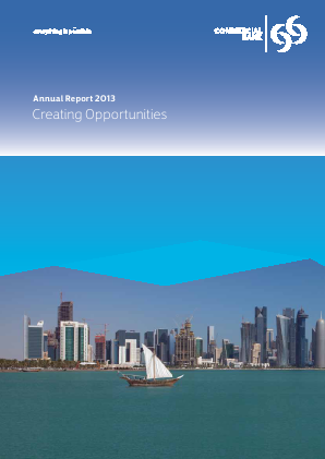 Commercial Bank annual report 2013