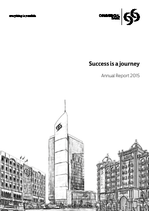 Commercial Bank annual report 2015