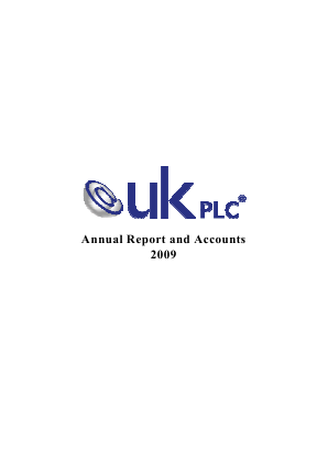 Cloudbuy Plc annual report 2009