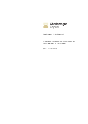 Charlemagne Capital annual report 2015