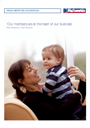 Nationwide Building Society annual report 2004