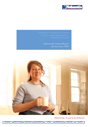 Nationwide Building Society annual report 2005