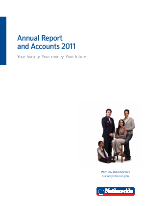 Nationwide Building Society annual report 2011
