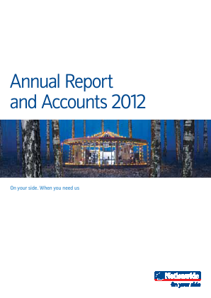 Nationwide Building Society annual report 2012